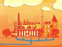 rheinenergie ag / animation: district heating in cologne