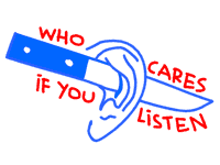 logo / who-cares-if-you-listen